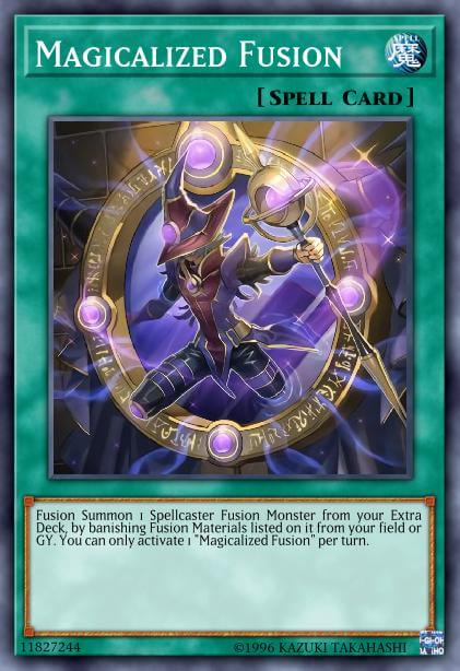 Magicalized Fusion Card Information Yu Gi Oh Database