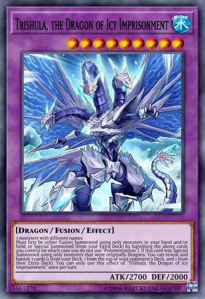 Trishula, the Dragon of Icy Imprisonment