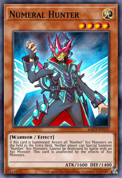 Numeral Hunter Card Information Yu Gi Oh Database
