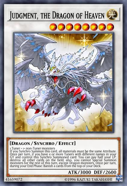 Judgment, the Dragon of Heaven