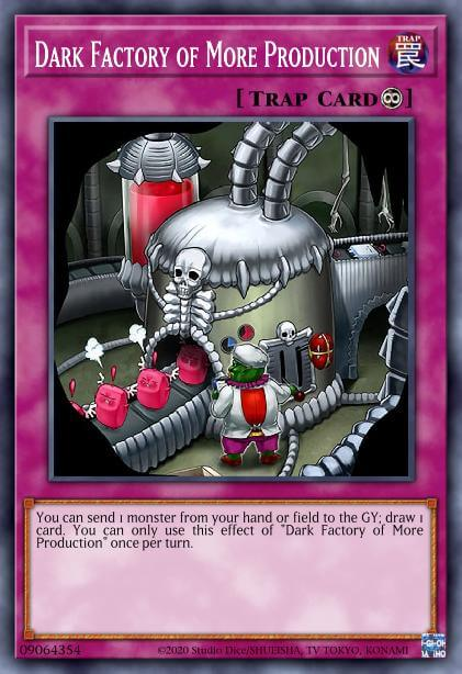 Dark Factory Of More Production Card Information Yu Gi Oh Database