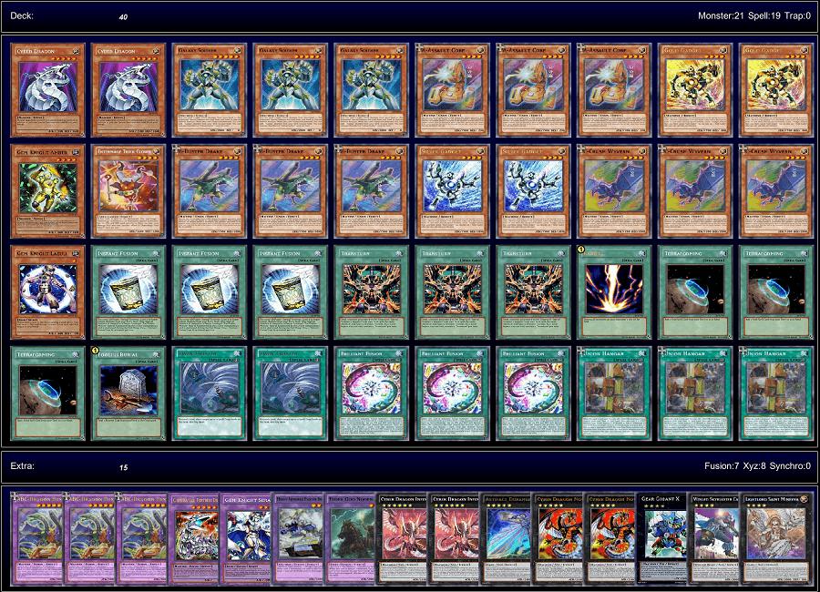 yugioh machine deck build