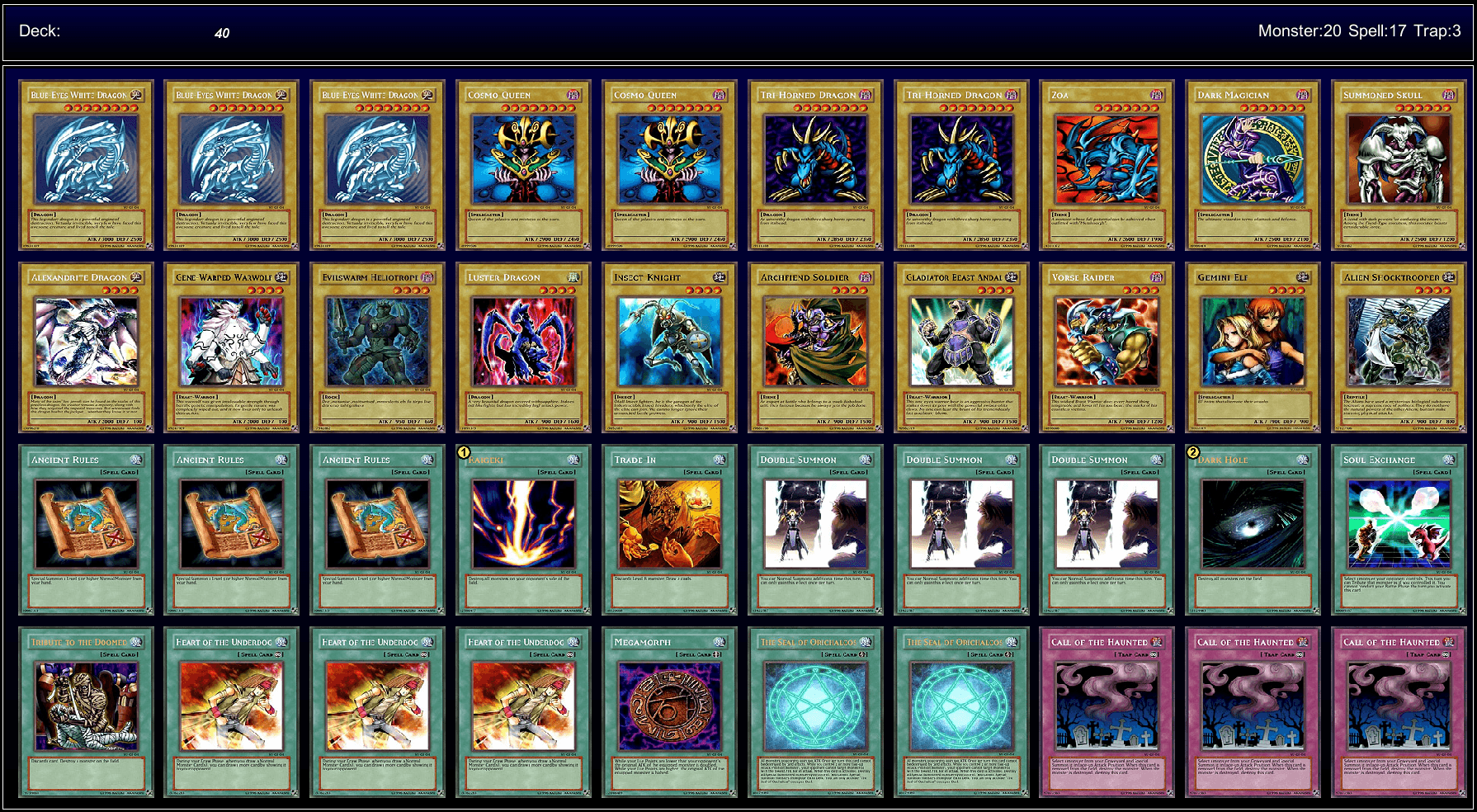 Toon Deck Build Yugioh