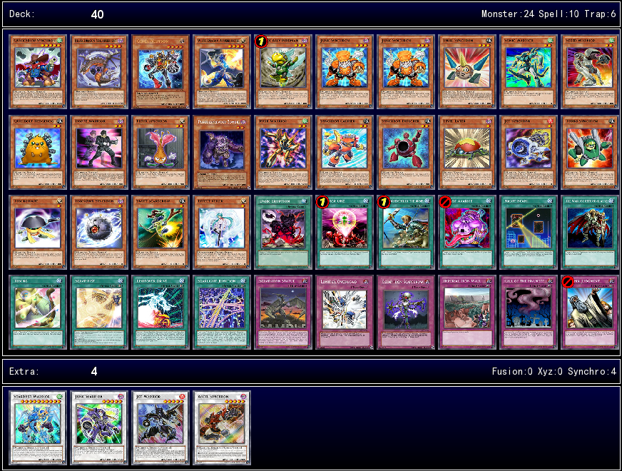 Synchron Extreme Structure Deck Ygoprodeck