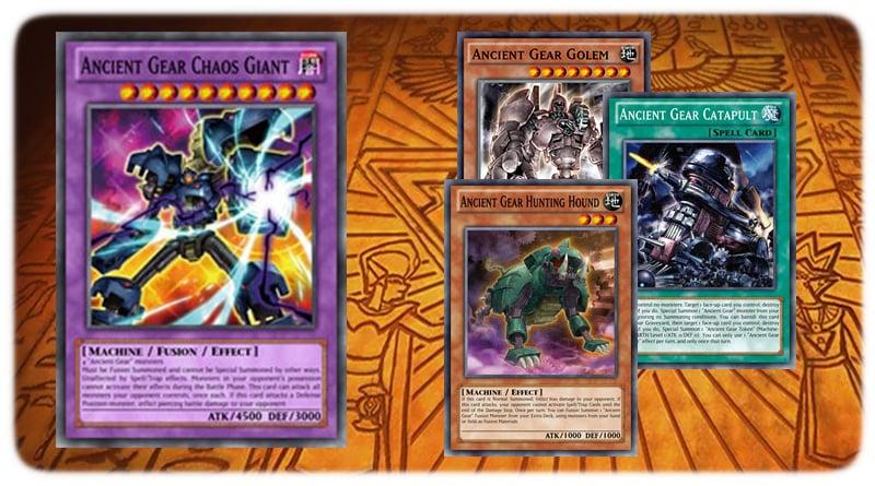 Fusion Yugioh Ancient Gear Machine Deck Gear Golem Chaos