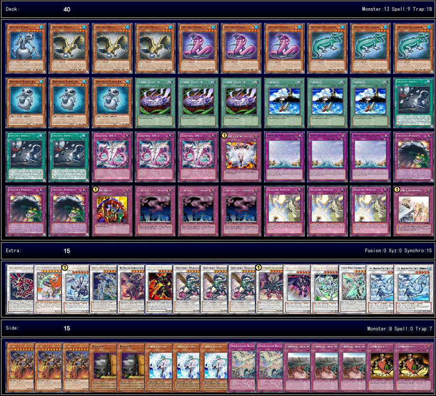 Die Neusten Yugioh Decks: Graydle Madness (via TheRealAdam) V0.1