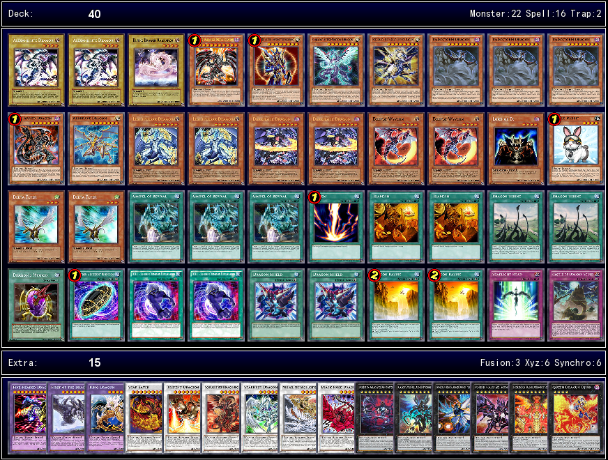 how to build a dragon deck