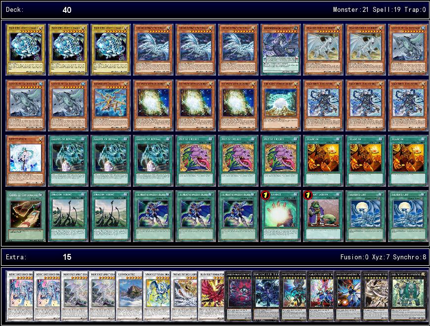 Blue-Eyes Link Format (via Yu-Gi-Oh-TUBE ) V0.1 - YGOPRODECK