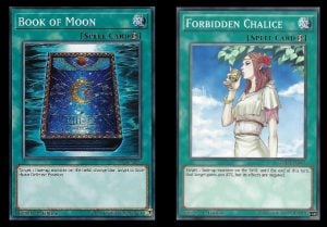 Book of Moon and Forbidden Chalice