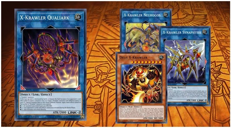 Yugioh Tournament Ready to Play 52 Card Krawler Deck Qualiark World Legacy Link
