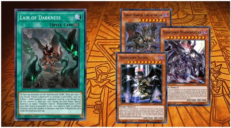 Lair of the Darklords (Darklords/Lair of Darkness) - YGOPRODECK