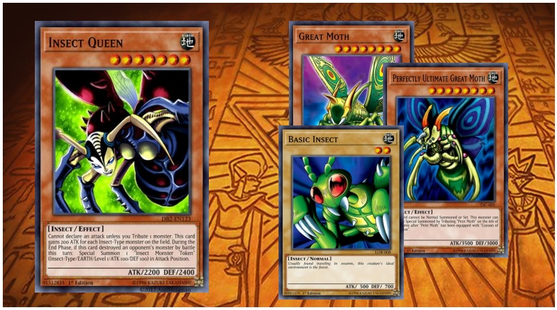 WEEVIL UNDERWOOD DECK INSECT QUEEN PERFECTLY ULTIMATE GREAT MOTH COCOON YUGIOH
