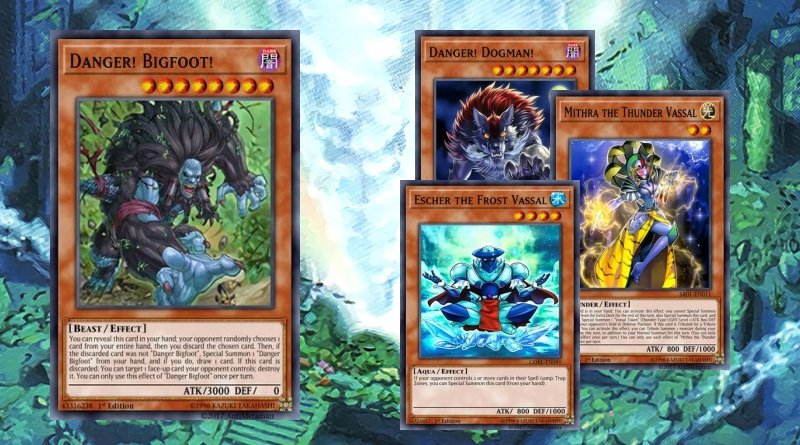 Mythics monsters deck