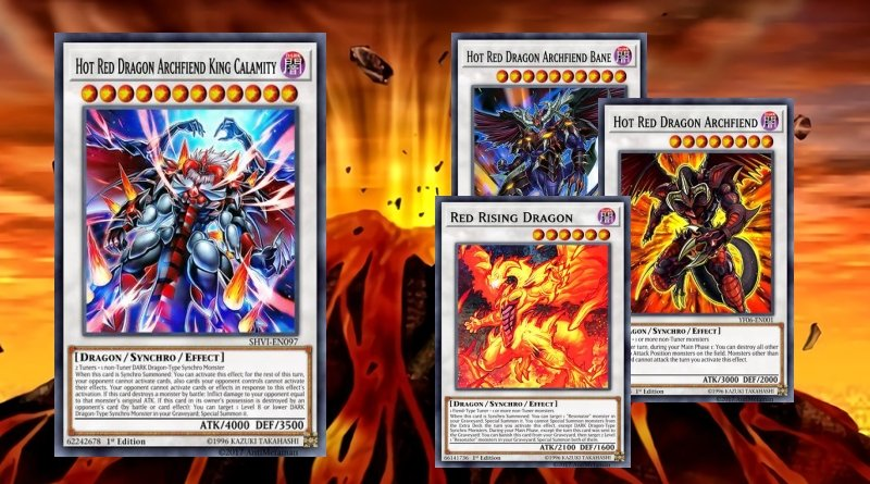 Red Dragon Archfiend Deck - YGOPRODECK