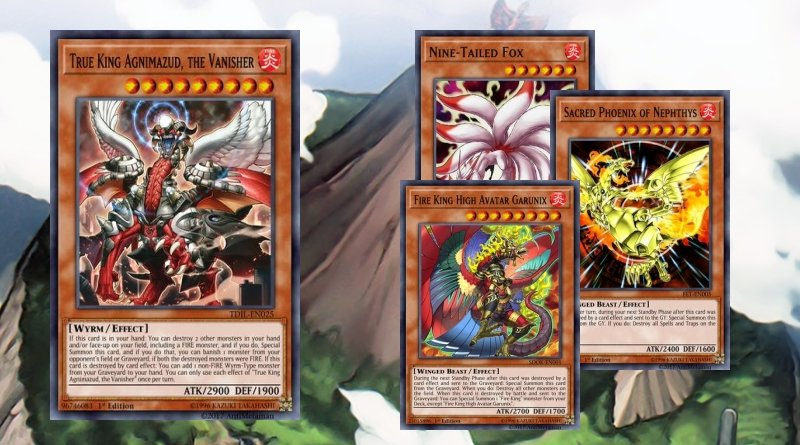 True Fire King - YGOPRODECK