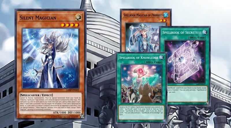 Silent Magician Spellbook - YGOPRODECK