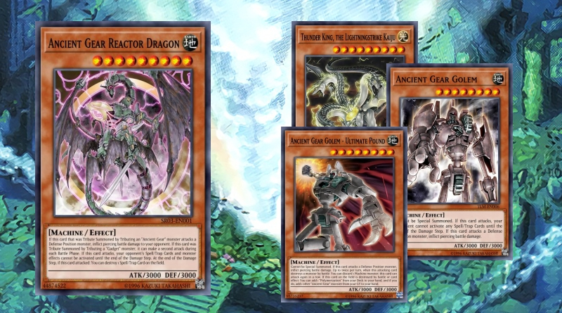 Ancient Gear OCG 5/2019 - YGOPRODECK