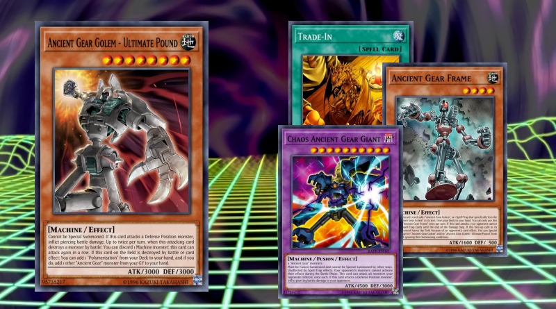 Gear Golem Yugioh Ancient Gear Machine Deck Chaos Fusion