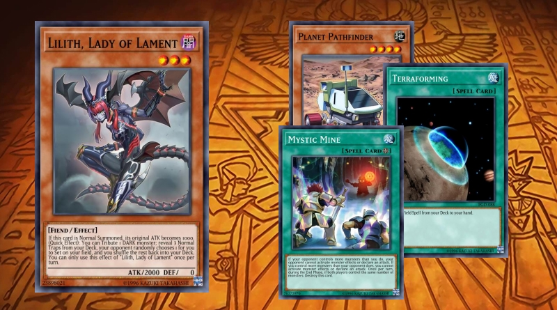 Mystic Mine With Kaiju in Side Deck