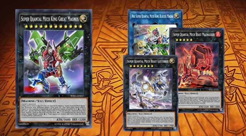 Super Quantal Mech King Great Magnus - YGOPRODECK