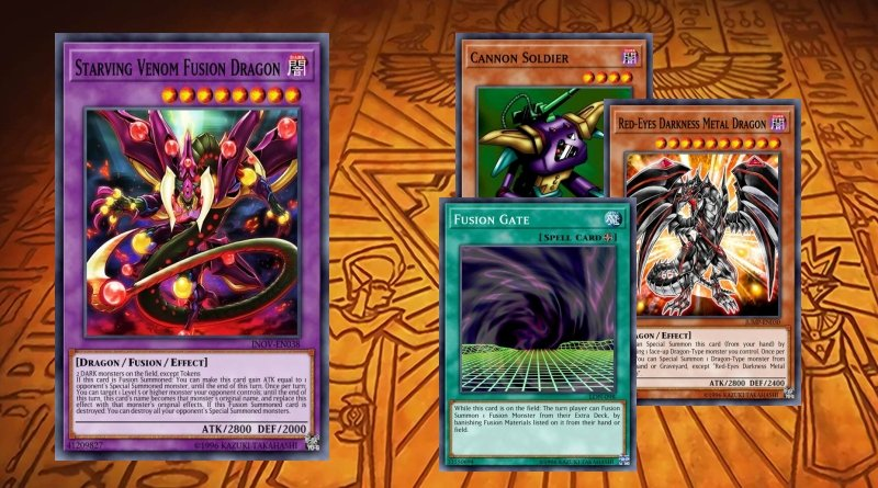 Card yu gi oh dragon fusion avid venom fuen-fr010