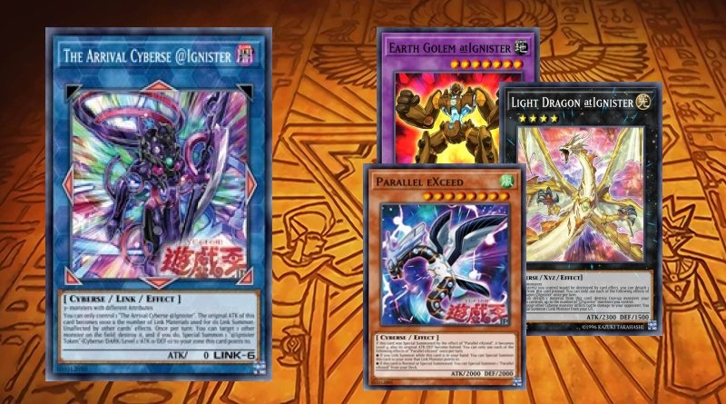 The Arrival Cyberse Ignister Deck Ignister 2020 Ygoprodeck