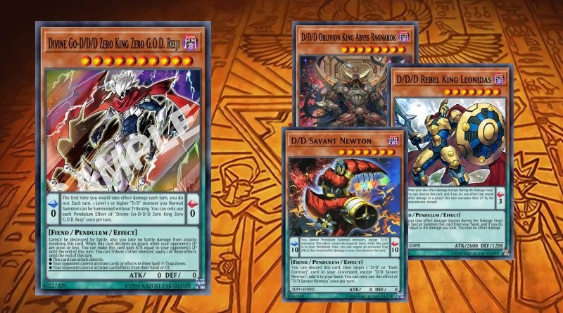 D/D/D deck without/with banlist 2019 - YGOPRODECK
