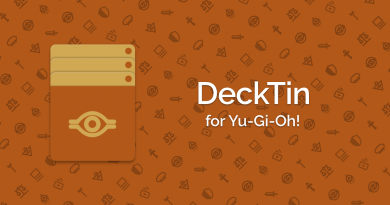 DeckTin Android Deck Building Application for Yu-Gi-Oh!