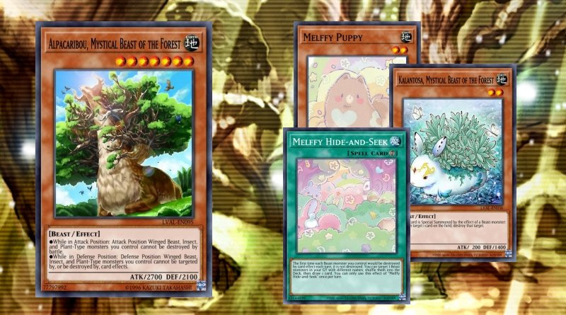 Melffy deck//set//Core-welpi gato bosque perros escuela heraldo bogenlichts Yu-Gi-Oh