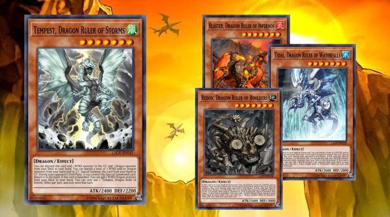 Trinity Starter Deck: Dragon Ruler (November 2020 Update)