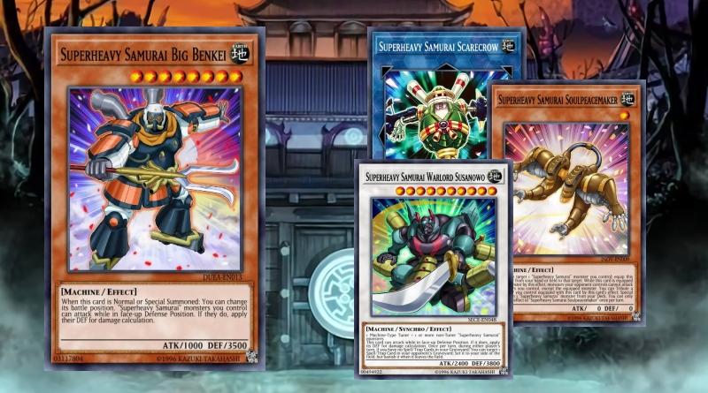 Superheavy Samurai Machine Deck w// Scarecrow// Ninja Sarutobi// Steam Yugioh +++
