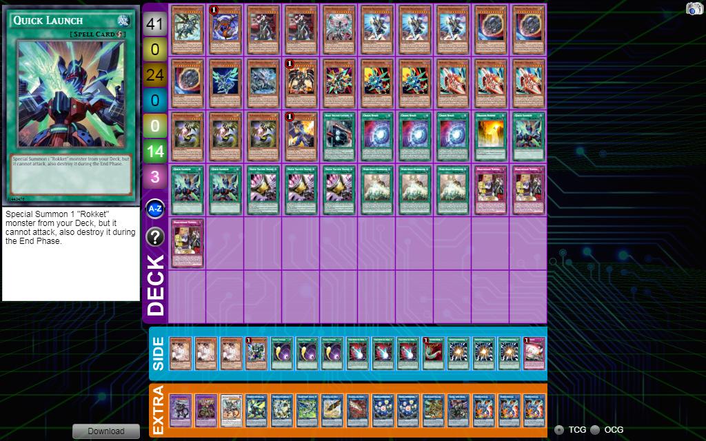 Dragon Link Deck list