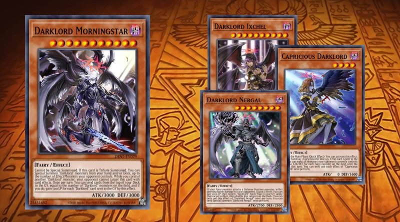 Despia Darklord deck 60 cards,Dawn of Majesty,The First Dar
