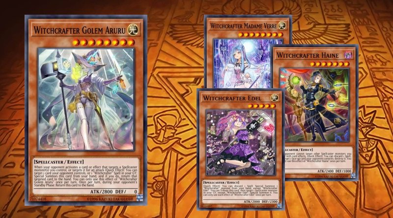 Witchcrafters deck,Witchcrafter Edel